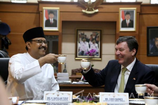 Pemprov Jatim: Pendirian Konjen Australia di Surabaya Meningkatkan Kerja Sama