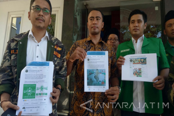 GP Ansor Laporkan Akun Penghina Kiai ke Polda Jatim