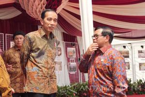 Jokowi: Menteri jangan Buat Gaduh Masyarakat