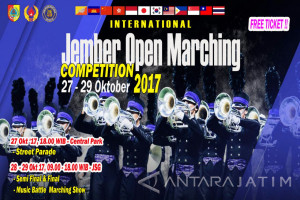 Empat Negara Bersaing dalam Jember Open Marching Competition