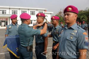 Sebanyak 25 Prajurit Pasmar-1 Terima Kenaikan Pangkat