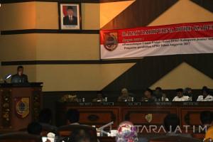Catatan Fraksi DPRD Jember Warnai Penetapan P-APBD 2017