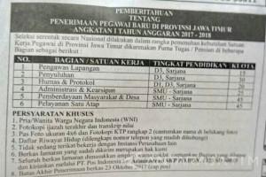 BKD Jatim: Jangan Percaya Iklan Rekrutmen CPNS