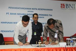 BNI Surabaya Dukung Pangkalan Elpiji Gunakan Transaksi Nontunai