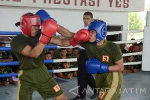 Prajurit Marinir Jaga Soliditas Melalui Olahraga Bersama