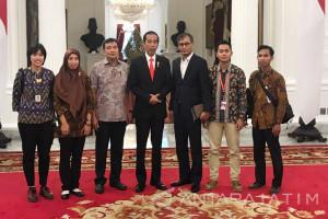 Jokowi Tegaskan Pembangunan SDM jadi Fondasi Ekonomi (Video)