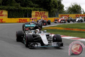 Hamilton Tercepat pada Latihan di Abu Dhabi