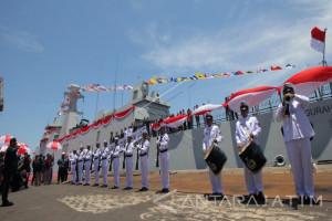 Menhan : Kapal Perang PKR Perkuat Indonesia Sebagai Poros Maritim Dunia