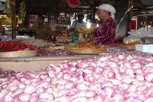 Kenaikan Harga Bawang Merah Picu Inflasi Madiun