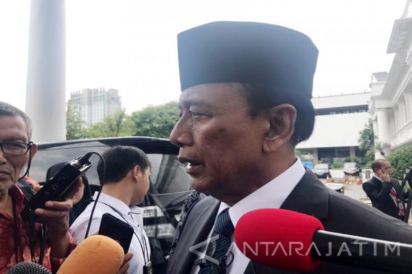 Terkait Kerawanan Pemilu Wiranto Tunggu Informasi Bawaslu (Video)
