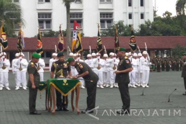 Mayjen TNI Arif Rahman Resmi Jabat Pangdam V/Brawijaya