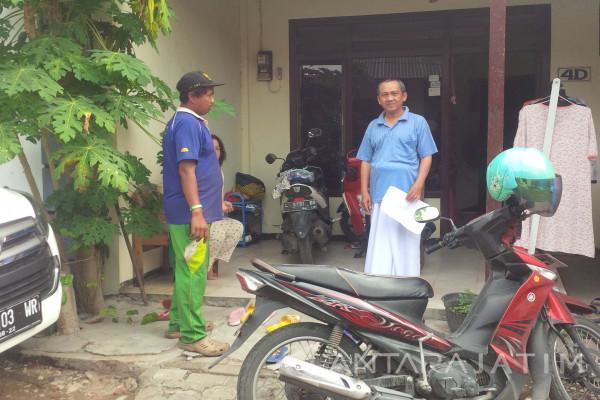 Polisi Amankan Maling Motor dari Amuk Massa