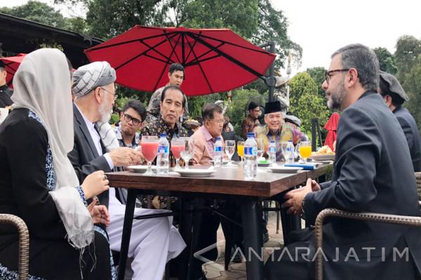 Jokowi Jamu Majelis Tinggi Perdamaian Afghanistan (Video)