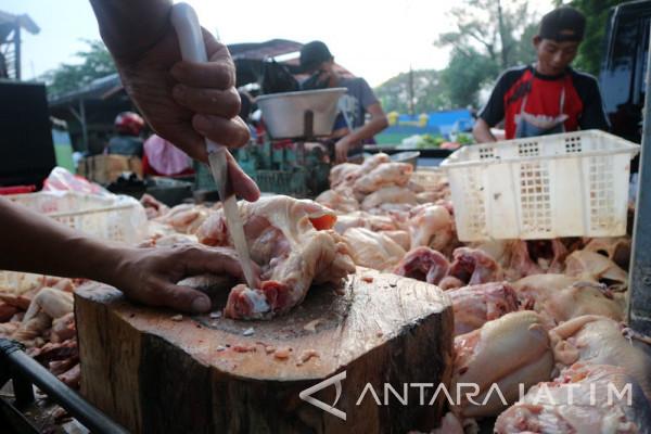 Harga Daging Ayam Potong Rp35.000/Kilogram