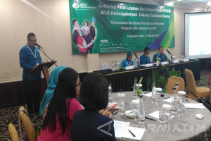 BPJS Ketenagakerjaan Darmo Salurkan Klaim Rp93 Miliar