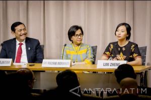 Livi Zheng Jadi Pembicara Bersama Menteri BUMN-Menkominfo