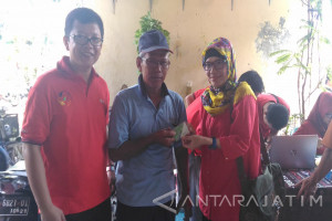 BPJS Ketenagakerjaan Rungkut  Sasar Pekerja Pasar Bratang