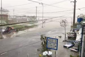 China Ungsikan 200 Ribu Orang akibat Topan