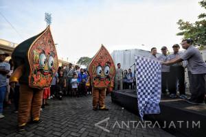 KPU Madiun Gelar Jalan Santai Sosialisasikan Tahapan Pilkada
