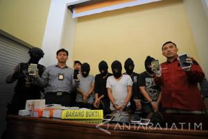 Polres Madiun Kota Ringkus Komplotan Pencopet Handphone