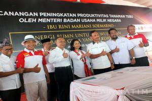 Tingkatkan Produktivitas Tebu, PTPN XI Jamin Pembayaran Pupuk Petani