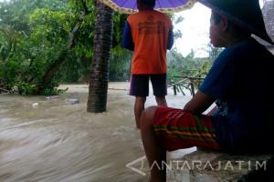 Hujan Deras Sebabkan Banjir Bandang di Sejumlah Desa di Bojonegoro