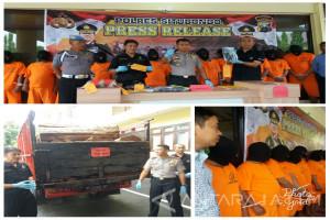 Polres Situbondo Segera Limpahkan Kasus Pembalakan Liar Melibatkan Oknum Polisi dan Perhutani (Video)