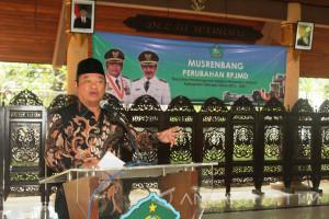 Perubahan RPJMD Pemkab Sidoarjo Bermisi Bersih dan Akuntabel