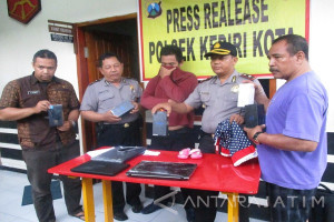 Suami-Istri dari Jakarta Tertangkap Mencuri di Kediri