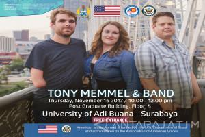Tony Memmel Adakan Lokakarya Musisi Kebutuhan Khusus di Surabaya