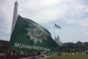 Muhammadiyah Surabaya Merekat Kebersamaan di Tugu Pahlawan