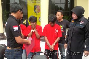 Polrestabes Surabaya Ringkus Komplotan Perampas Motor