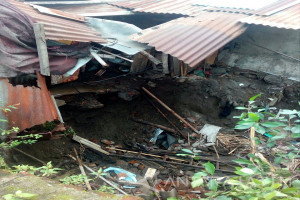 BPBD Kediri Imbau Warga Tidak Dirikan Bangunan di Dekat Sungai