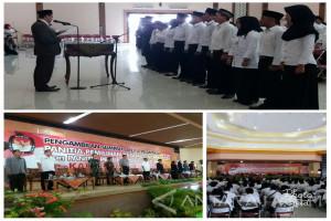 KPU Situbondo Lantik Ratusan Anggota PPK dan PPS