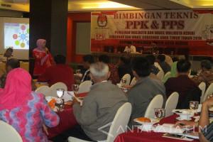PPK dan PPS di Kediri Dibekali Aturan Pilkada