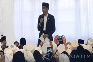 Jokowi Pesan Persatuan Dua Ponpes di Lombok