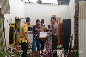 Polresta Sidoarjo Terjunkan 120 Anggota Bantu Korban Puting Beliung (Video)