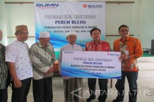 Bulog Jawa Timur Berikan Bantuan untuk Program Kemitraan Bina Lingkungan