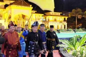 President Open Keraton Nusantara Festival in Medan