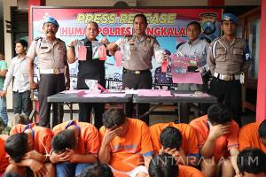 Polres Bangkalan Tangkap 17 Tersangka Narkoba