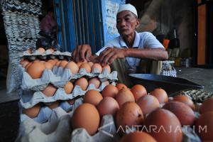 Kenaikan Harga Telur Ayam Picu Inflasi November di Madiun