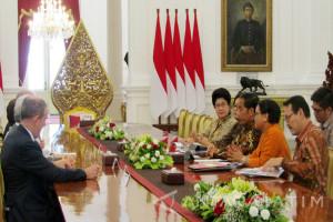 Jokowi Terima Perwakilan Perkumpulan para Mantan Kepala Negara (Video)