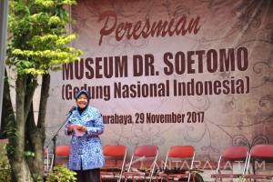 Wali Kota Surabaya Resmikan Museum Dr. Soetomo
