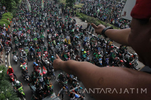 Polrestabes Surabaya Siap Amankan Pertandingan Piala Presiden