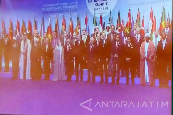 Joko Widodo Hadiri KTT Luar Biasa OKI di Istanbul