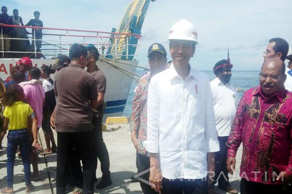Jokowi Nyatakan Pelabuhan Nabire Penghubung Kabupaten Sekitarnya (Video)