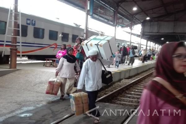 kenaikan penumpang kereta liburan nyepi tidak signifikan