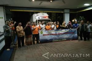 Tim Misi Kemanusiaan Unej Bantu Pengungsi Gunung Agung