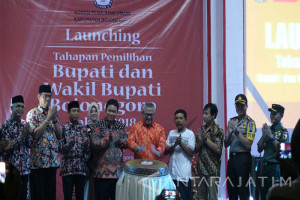 KPU Target Hasil Pilkada Bojonegoro Diketahui Cepat (Video)