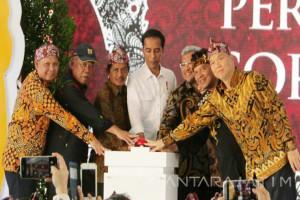 Presiden Jokowi Resmikan Tol Soroja (Video)